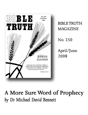 Bible Truth Magazine No 250 articles