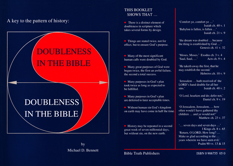 Doubleness in the Bible